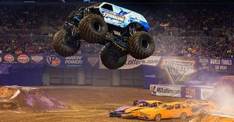 monster truck jam st louis another high flying weekend for hooked in st louis