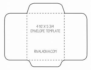 Envelope template envelope template for 85 x 11 paper for 8 5 x 11 envelope template