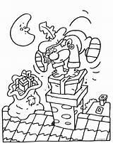 Kleurplaten Schoorsteen Drukt Pakje Knutselen Piet Een Afkomstig sketch template