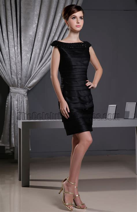 Little Black Dress Short Cocktail Party Dresses With