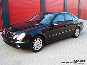 Mercedes E 270 Cdi : 2002 mercedes benz e 270 cdi avantgarde facilities full car photo and specs ~ Melissatoandfro.com Idées de Décoration