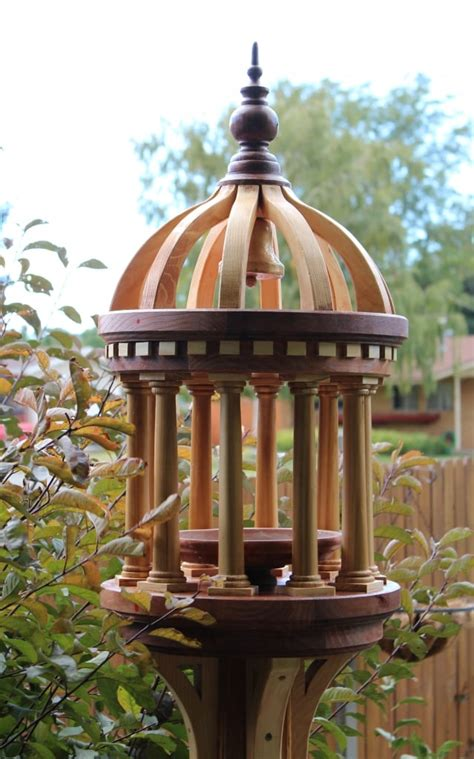 tuscany bird feeder woodworking plan forest street designs
