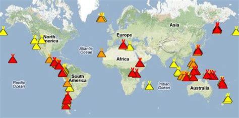 Carte Des Volcans Actifs Dans Le Monde by 199 A Vous Dirait De Savoir Quels Volcans Sont En Activit 233