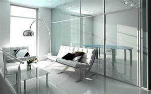 Glass, In, The, Interior, For, Visually, Larger, And, Brighter, Space