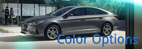 hyundai sonata colors 2018 hyundai sonata color options