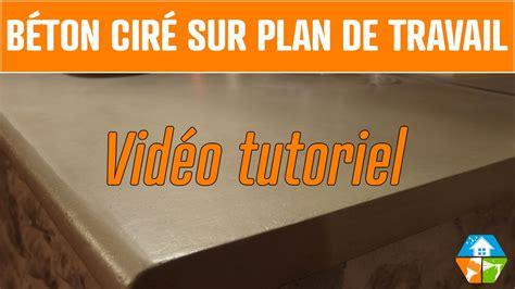 beton ciré cuisine plan travail béton ciré plan de travail cuisine salle de bain extérieur