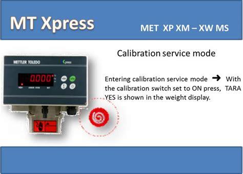 solucionado calibrar bascula mettler toledo xpress xws60ms x1s yoreparo