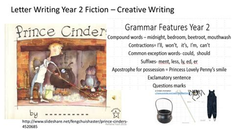 prince cinders year  letter writing fiction