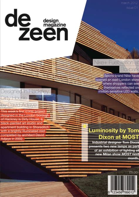Architecture Magazine In The Uk