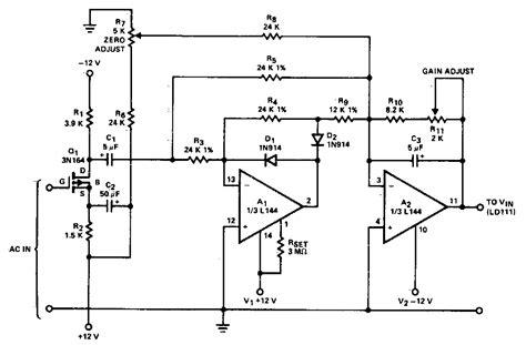 ac  dc converter circuit diagram electronic circuit