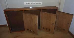 Briefkasten Aus Holz : alter 3er briefkasten aus holz treppenhausbriefkasten f r 3 parteien 50er 60er ~ Udekor.club Haus und Dekorationen