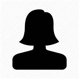 Female, human, person, user, woman icon   Icon search engine