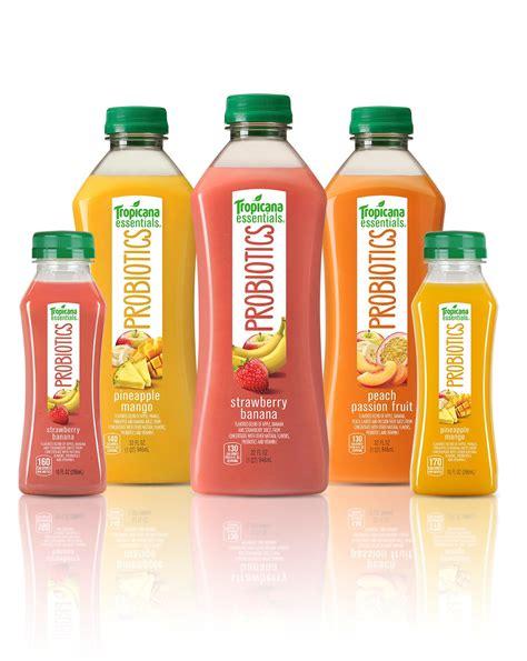 Tropicana Launches New 100% Juice with Probiotics ...