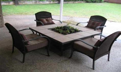 outdoor tables propane pit tables costco patio