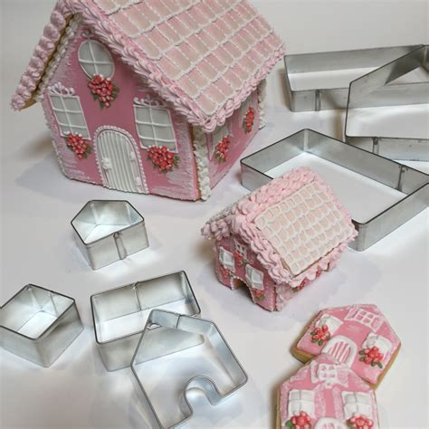 gingerbread house large cookie cutter set handmade