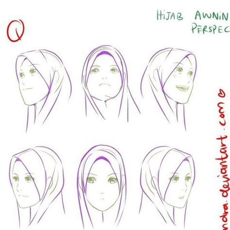 anime hijab simple 34 best hejab drawing images on pinterest hijab styles
