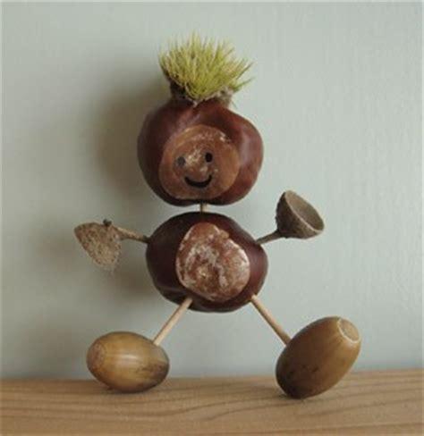 que faire avec des marrons bonhomme d automne esprit cabane idees creatives et