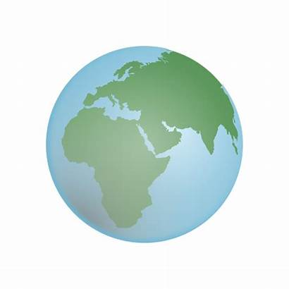 Earth Globe Illustration Icon Transparent Grid Vector
