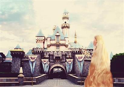Castle Disney Disneyland Kingdom Magic Rapunzel Cinderella