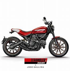 The Bullitt: Ducati Scrambler Concept Mock-Ups