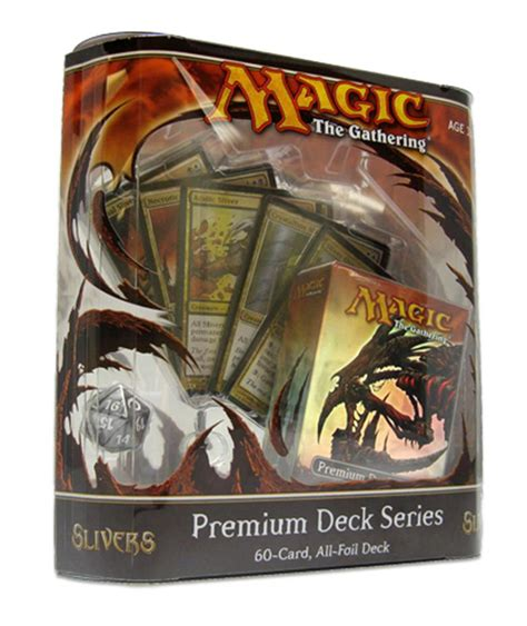 mtg sliver deck premium sliver deck packaging revealed gatheringmagic