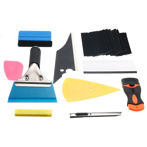10 in 1 window tint tools car wrapping application kit