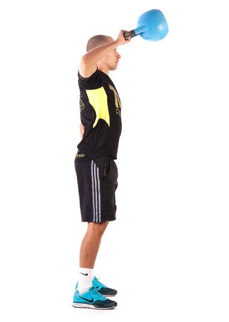 kettlebell pull exercise fitness workout