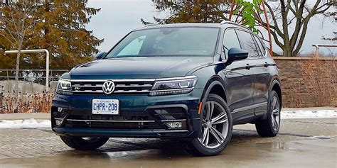 2020 Volkswagen Tiguan R Line by Suv Review 2019 Volkswagen Tiguan Highline R Line Driving