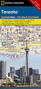 Buy Toronto, Ontario DestinationMap by National Geographic ...