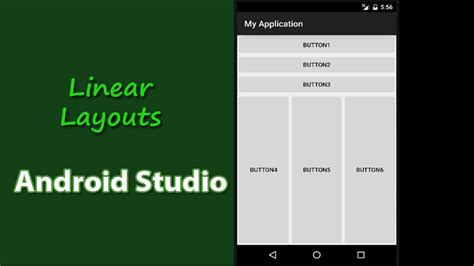 linear layout android studio renderweb