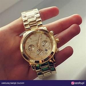 Zegarek Mk Zloty W Bi U017cuteria