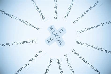 list  psychological disorders   dsm