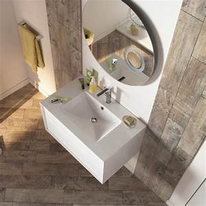 pin by maisonnette on bathroom pinterest With salle de bain carrelage imitation parquet