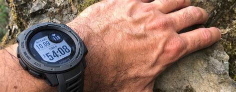 Praxistest Garmin Instinct Outdoor Smartwatch Hiking