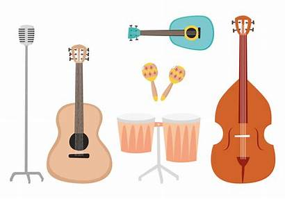 Musical Instrument Vectors Clipart Graphics System