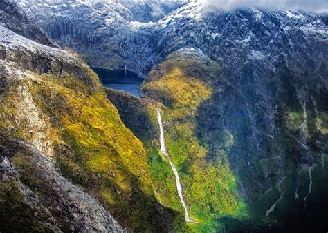 5five5 Sutherland Falls (fiordland  New Zealand