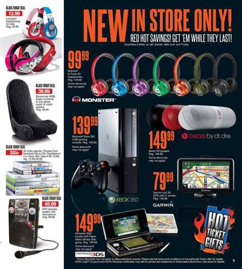 Kohls Gaming Chair Black Friday by Kohl S Black Friday 2013 Ad Find The Best Kohl S Black