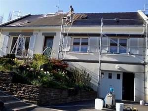 Perche Telescopique Nettoyage Toiture : demoussage toiture nantes nettoyage toiture saint nazaire ~ Premium-room.com Idées de Décoration