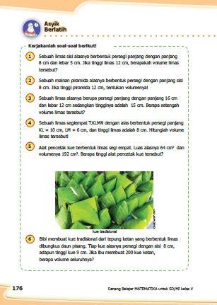 Contoh soal ulangan kelas 5 sd tema 6 kurikulum 2013. Kunci Jawaban Buku Senang Belajar Matematika Kelas 5 ...