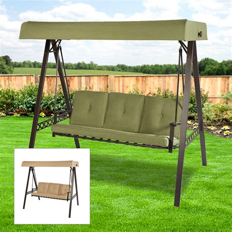 lowes porch swing replacement swing canopies for lowe s swings garden winds