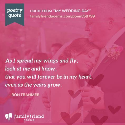 poem  bride  father  wedding day
