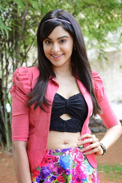 adah sharma beautiful   skirt  garam