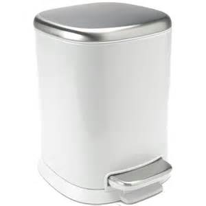 small trash can with lid bathroom
