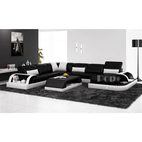canapé d angle et noir photos canapé d 39 angle design noir et blanc