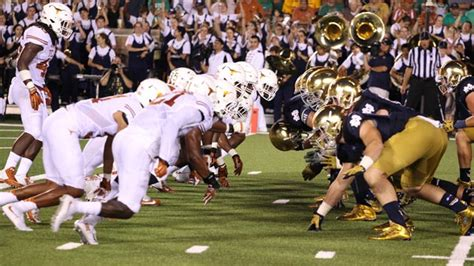 Watch Notre Dame vs. Texas College Football Game Online ...