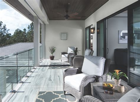 Inspired Outdoor Living In The New American Home 2018