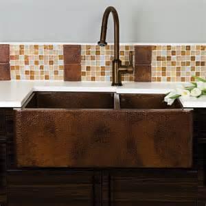 antique copper kitchen faucet farmhouse duet copper kitchen bowled apron sink