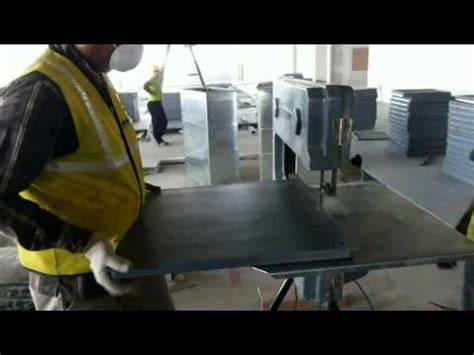 unitile perimeter tile cutting with bandsaw machine