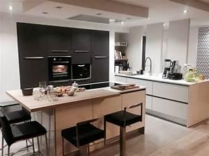 17 best images about idees maison on pinterest shelves With idee deco cuisine avec modele cuisine contemporaine