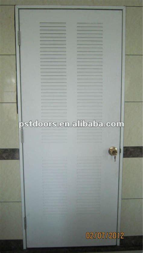 bathroom door ventilation steel louver door american style